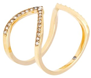 Michael Kors SIZE 8 NWT Collection Open Arrow Ring Gold MKJ37497108