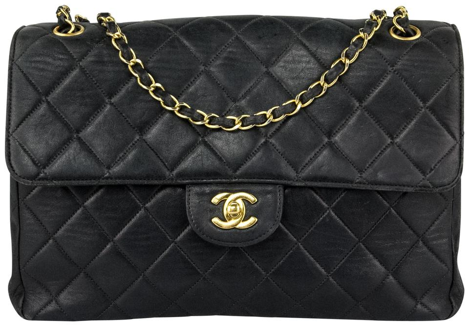 cbe2f7ce506a Chanel Woc Jumbo Quilted Chain Classic Flap Cc Logo Shoulder Bag Image 0 ...