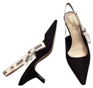 Dior Black & White Pumps