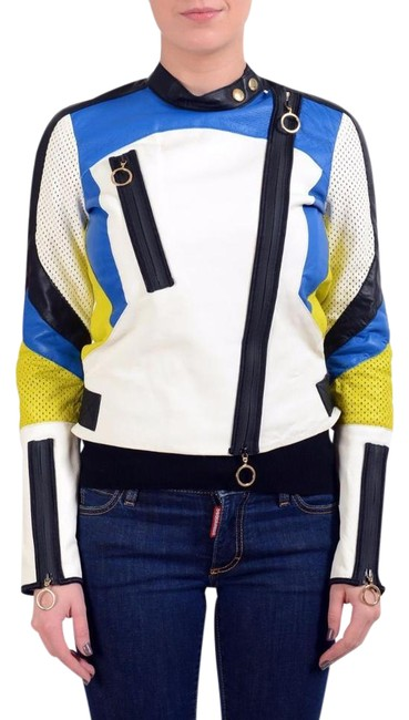 Item - Multi-color Women's Double Breasted Jacket Size 8 (M)