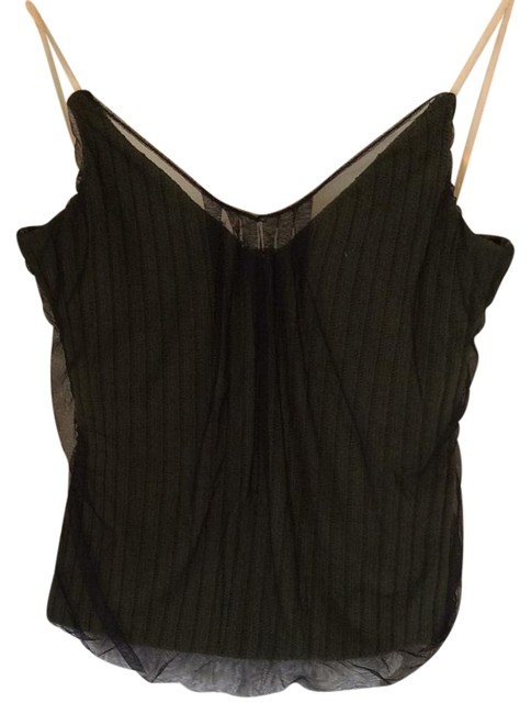 Item - Army Green and Black Alexander Tank Top/Cami Size 10 (M)