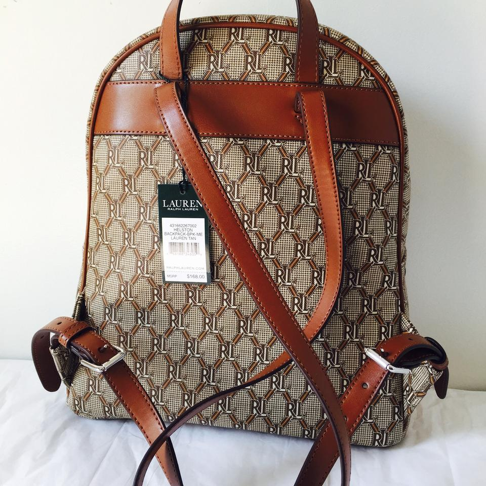 4d0f59a91c5e Ralph Lauren - Helston Tan Brown Backpack - Tradesy
