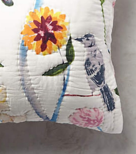 Anthropologie Multi-color Garden Chinoiserie Euro Sham Pair Other Image 1