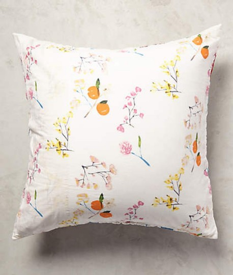 Anthropologie Multi-color Garden Chinoiserie Euro Sham Pair Other Image 2