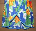 Tropical Bird short dress Blue Summer Beach Floral Strappy Vintage on Tradesy Image 2