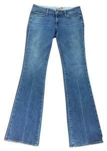 Paige Premium Denim Boot Cut Jeans-Medium Wash