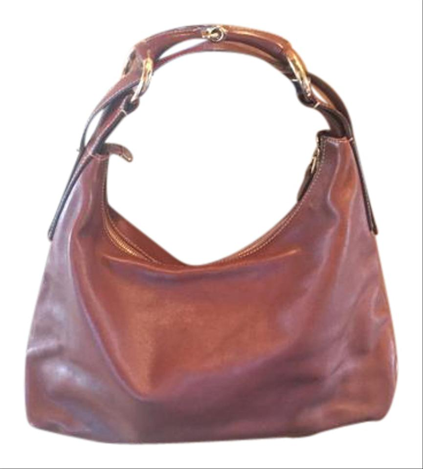 e563a6fc611 Gucci Horsebit Vintage In Rare Perfect Condition Cognac Medium Brown  Leather Hobo Bag