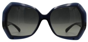 Chanel Hectagon Transparent Navy Blue Sunglasses 5365 c.1390/71