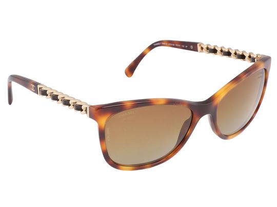 Chanel Tortoise Sunglasses Image 1