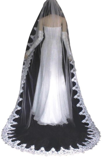 Preload https://img-static.tradesy.com/item/22000229/diamond-white-long-one-tier-french-lace-cathedral-bridal-veil-0-1-540-540.jpg