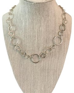 Kim Rogers Silver Circles Necklace