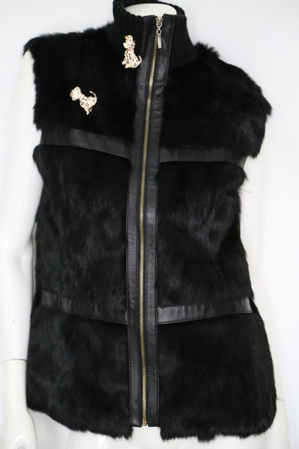 Unbranded Rabbit Fur Sleeveless Vest