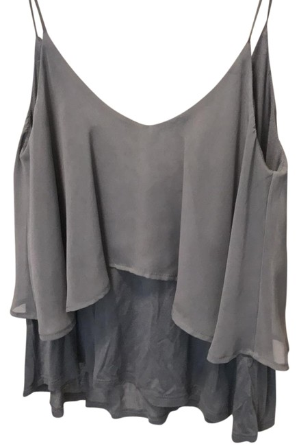 Preload https://item5.tradesy.com/images/sparkle-and-fade-gray-tank-topcami-size-8-m-22000524-0-1.jpg?width=400&height=650
