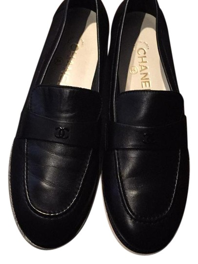 Preload https://item1.tradesy.com/images/chanel-black-loafers-flats-size-us-95-regular-m-b-22000535-0-1.jpg?width=440&height=440