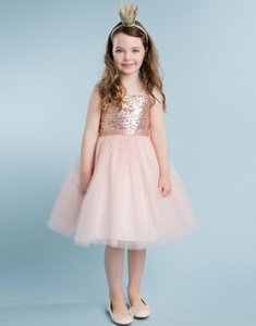 Blush Birthday Pageant Party Formal Bridesmaid/Mob Dress Size 6 (S)