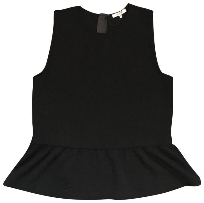 Preload https://item4.tradesy.com/images/ganni-black-blouse-size-8-m-22000718-0-3.jpg?width=400&height=650