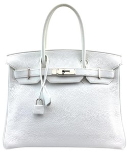 Hermès Satchel in #13672 White