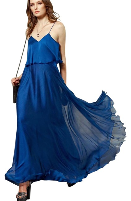 Preload https://img-static.tradesy.com/item/22000804/halston-blue-heritage-sleeveless-iridescent-popover-gown-long-formal-dress-size-4-s-0-1-650-650.jpg
