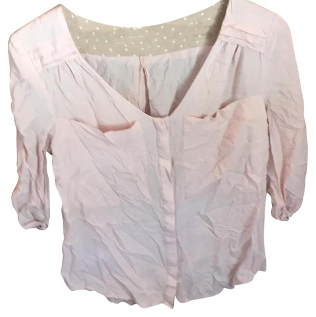 Preload https://item3.tradesy.com/images/anthropologie-pink-blouse-size-4-s-22000812-0-1.jpg?width=400&height=650