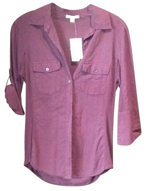 Preload https://item2.tradesy.com/images/james-perse-purple-button-down-top-size-4-s-22000831-0-1.jpg?width=400&height=650