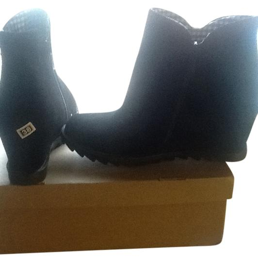 Other Wedge Black Boots