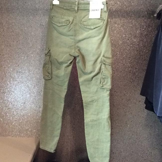 L'AGENCE Cargo Pants Army Green