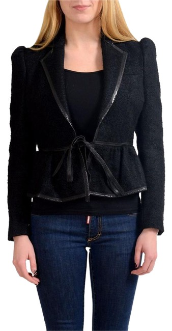 Preload https://img-static.tradesy.com/item/22000964/dsquared2-black-wool-silk-buttonless-women-s-basic-size-4-s-0-1-650-650.jpg