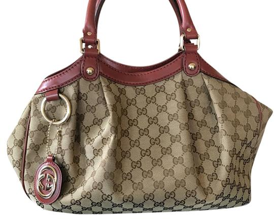 Preload https://item3.tradesy.com/images/gucci-sukey-monogram-large-beige-canvas-and-red-leather-tote-22000992-0-1.jpg?width=440&height=440