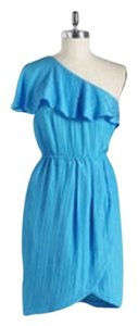 Tracy Reese short dress Blue Limited Edition on Tradesy