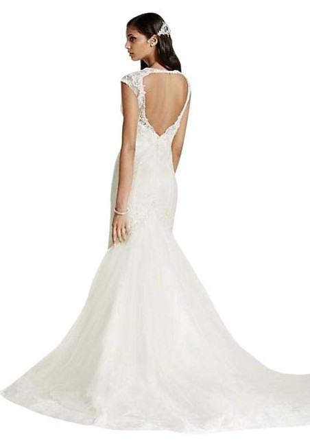 Item - White Lace Swg681 Vintage Wedding Dress Size 2 (XS)