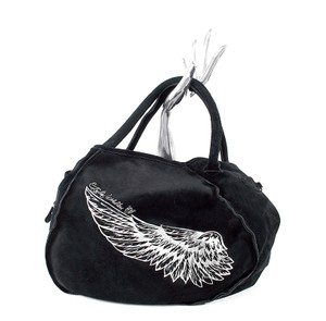 Tylie Malibu Angel Wing Tote in Black