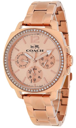 Preload https://item4.tradesy.com/images/coach-rose-gold-stainless-bracelet-crystal-glitz-dial-boyfriend-14502128-swiss-watch-22001293-0-1.jpg?width=440&height=440