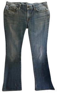 Citizens of Humanity Size 32 Light Wash Boot Cut Jeans-Light Wash