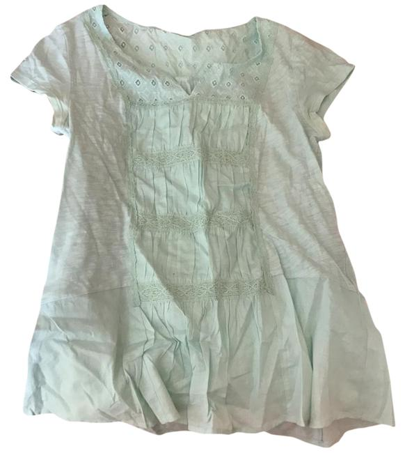 Preload https://item5.tradesy.com/images/anthropologie-mint-tee-shirt-size-4-s-22001424-0-1.jpg?width=400&height=650
