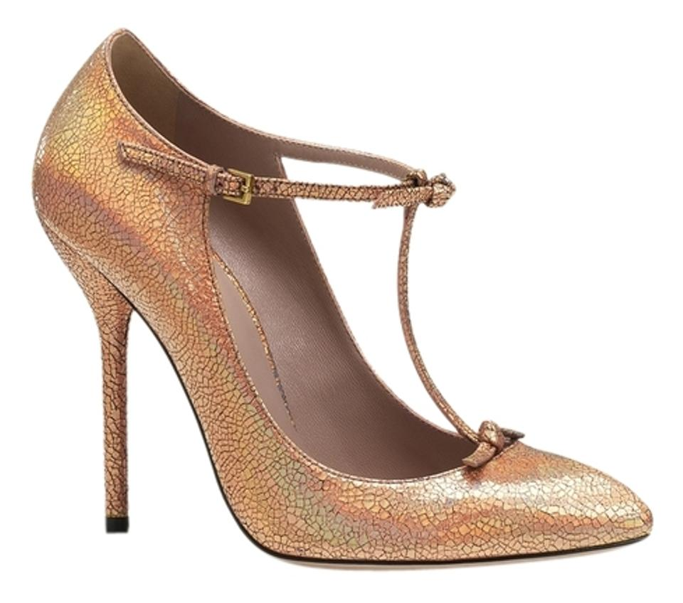 376fd058ce6 Gucci Beverly T-strap Heels Heel Italy Size 11 Size 41 Designer Luxury  Pointed Toe ...
