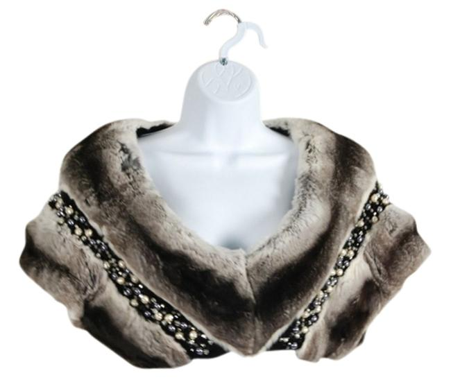 Preload https://item3.tradesy.com/images/multi-black-gray-vest-embellished-with-semi-precious-stones-night-out-top-size-12-l-2200152-0-0.jpg?width=400&height=650