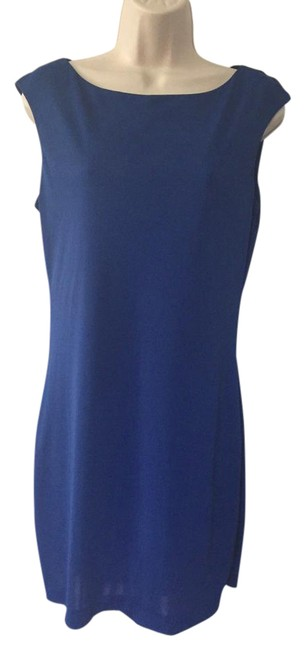 Preload https://item1.tradesy.com/images/zara-royal-blue-collection-short-casual-dress-size-petite-8-m-22001535-0-1.jpg?width=400&height=650