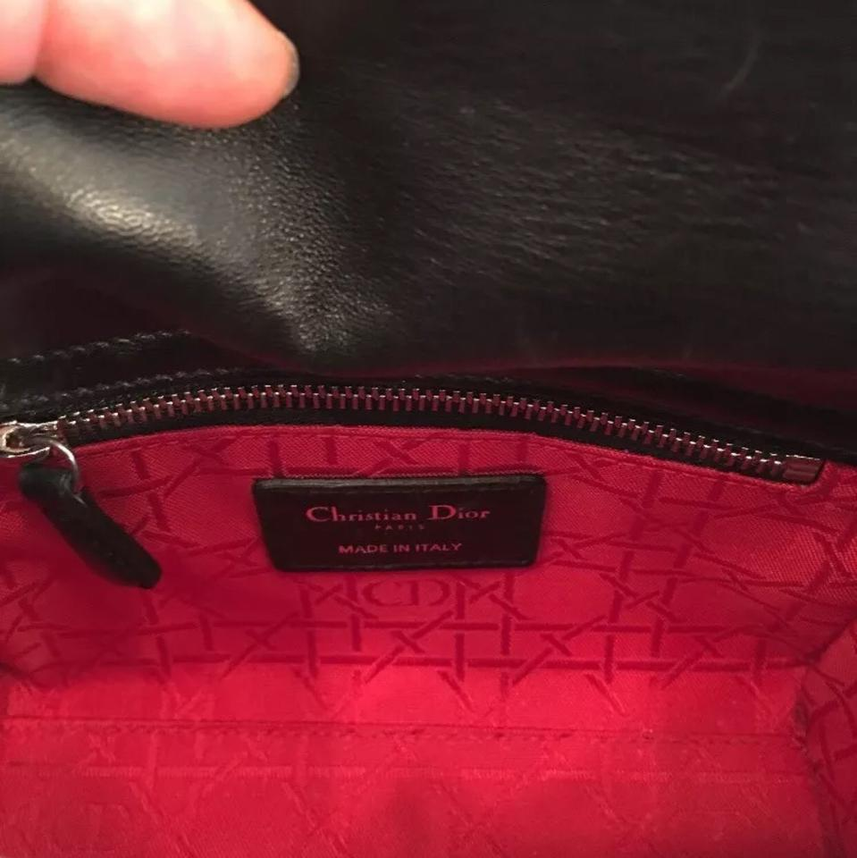 Cross Dior Body Bag Lady Dior Leather Lambskin FrqnrIOw