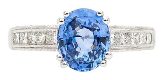 Preload https://img-static.tradesy.com/item/22001628/sapphire-sparkling-281ct-ceylon-diamond-in-18k-white-gold-ring-0-1-540-540.jpg