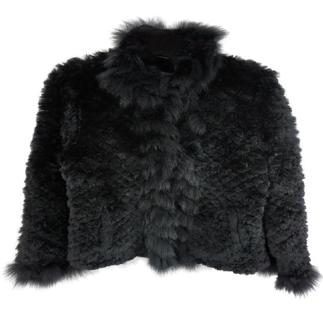 Preload https://item2.tradesy.com/images/neiman-marcus-black-knitted-rabbit-fur-coat-casual-or-cocktail-size-10-m-22001631-0-1.jpg?width=400&height=650