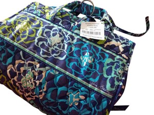 Vera Bradley Hanging Organizer Katalina Blue Travel Bag