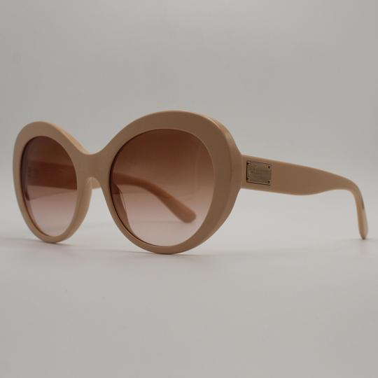 Dolce&Gabbana Oversized Round Light Pink Sunglasses 4295 3095/13