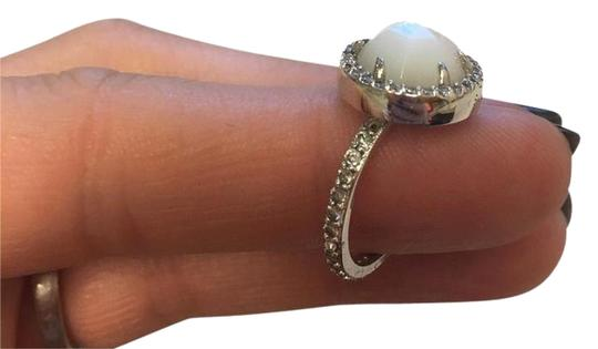 Preload https://item2.tradesy.com/images/henri-bendel-silver-with-mother-of-pearl-and-swarovski-crystals-luxe-size-7-ring-22001871-0-12.jpg?width=440&height=440