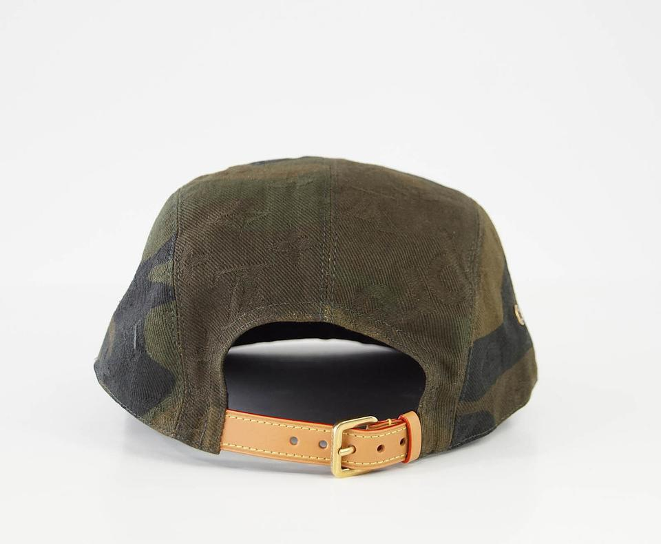 8a2f34092b2 Louis Vuitton x Supreme Camouflage Limited Edition 5 Panels Cap Hat -  Tradesy