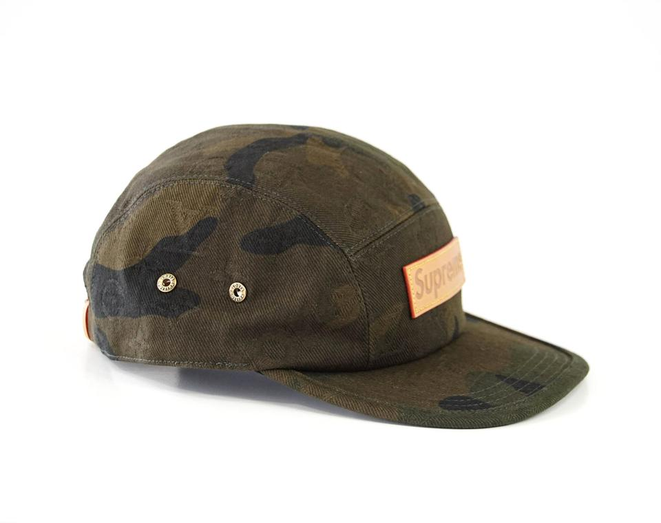 Louis Vuitton x Supreme Camouflage Limited Edition 5 Panels Cap Hat -  Tradesy acff7d1bff30