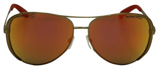 Michael Kors Gold Mirrored/Orange Sunglasses 5004 10146q