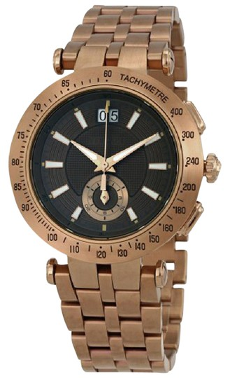 Preload https://item3.tradesy.com/images/versace-black-gold-tone-kaki-dial-men-s-bronze-steel-with-leather-strap-watch-22002012-0-1.jpg?width=440&height=440