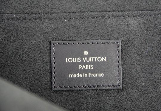 Louis Vuitton x Supreme Louis Vuitton Supreme X Black Pochette Epi Jour GM Clutch Case