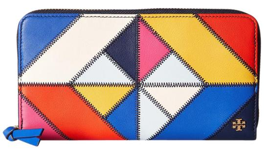 Preload https://img-static.tradesy.com/item/22002073/tory-burch-multi-color-new-colorful-stitching-leather-patchwork-long-wallet-0-1-540-540.jpg