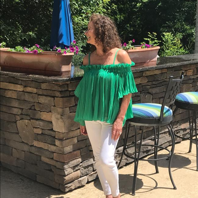 Preload https://item2.tradesy.com/images/endless-rose-green-blouse-size-2-xs-22002126-0-2.jpg?width=400&height=650